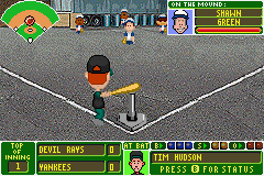 Play Backyard Baseball Online Play All Game Boy Advance Games Online