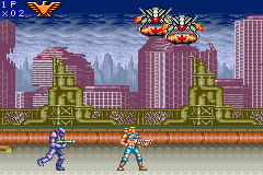Play Contra Advance – The Alien Wars EX Online