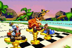 Play Crash Bandicoot Bakusou Nitro Cart Online