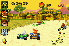 Play Crash Nitro Kart Online