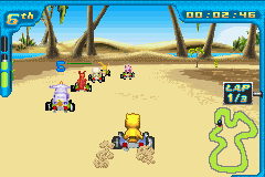 Play Digimon Racing Online
