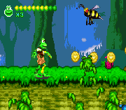 Play Frogger Advance – The Great Quest Online