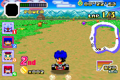 Play Konami Wai Wai Racing Advance Online