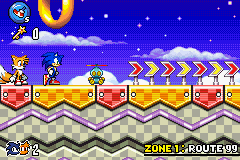 Play Sonic Advance 3 Online