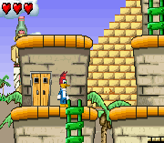 Play Woody Woodpecker in Crazy Castle 5 Online